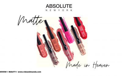 Lipstick Matte Made in Heaven Absolute New York