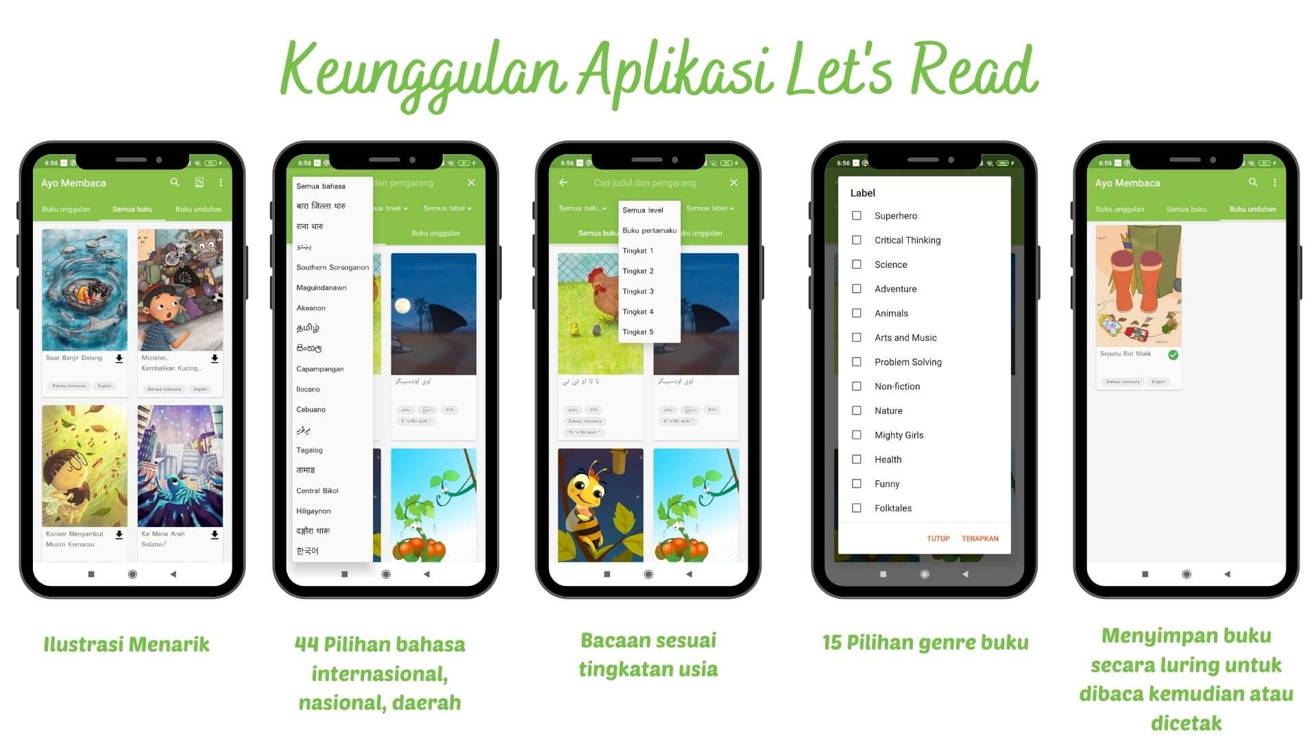 aplikasi lets read