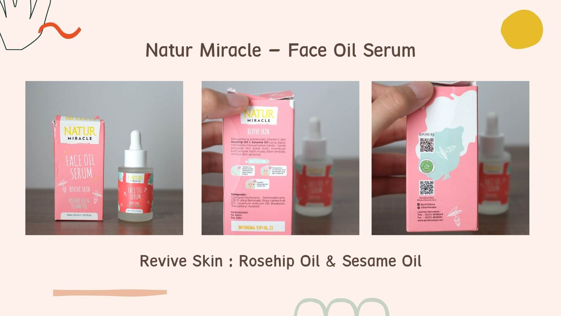 Natur Miracle Face Oil