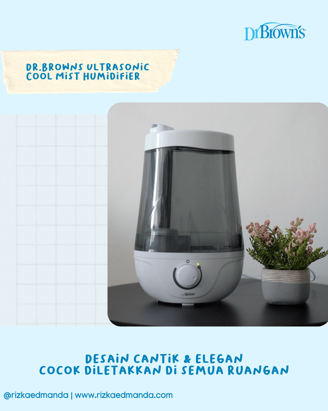 review humidifier dr.browns