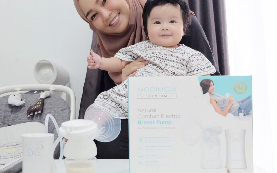 [REVIEW] : Pompa ASI/Breastpump Elektrik by MOOIMOM