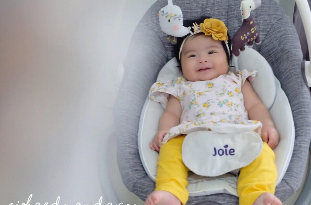 Review Perlengkapan Bayi : JOIE SERINA 2 IN 1 – SWING + ROCKER.